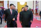 Hình ảnh Kim Jong Un thăm TQ lần ba
