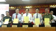 5 báo lớn ký kết chương trình phối hợp tuyên truyền