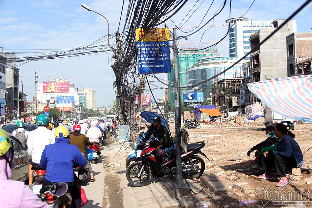 vành đai 2,đường vành đai 2,Hà Nội,dây điện