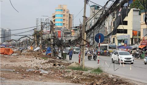 cột điện Minh Khai