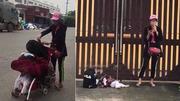 Mẹ Việt sốc trước cảnh 'hotgirl quỵt tiền' vứt con dưới đường, lên tiếng kêu gọi tước quyền làm mẹ