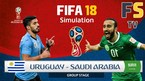 Trực tiếp Uruguay vs Saudi Arabia, 22h ngày 20/6