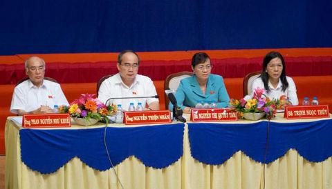 Bí thư Nguyễn Thiện Nhân: 'Thành ủy không lừa dối bà con đâu'