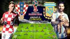 Argentina vs Croatia: Tỏa sáng đi, Messi!
