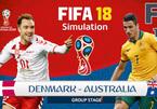 Kèo Đan Mạch vs Úc: Cửa dưới vùng lên