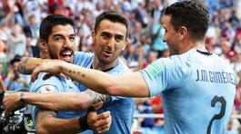 Luis Suarez ghi bàn, Uruguay nắm tay Nga đi tiếp