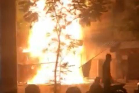cháy nhà 5 tầng kinh doanh lồng đèn