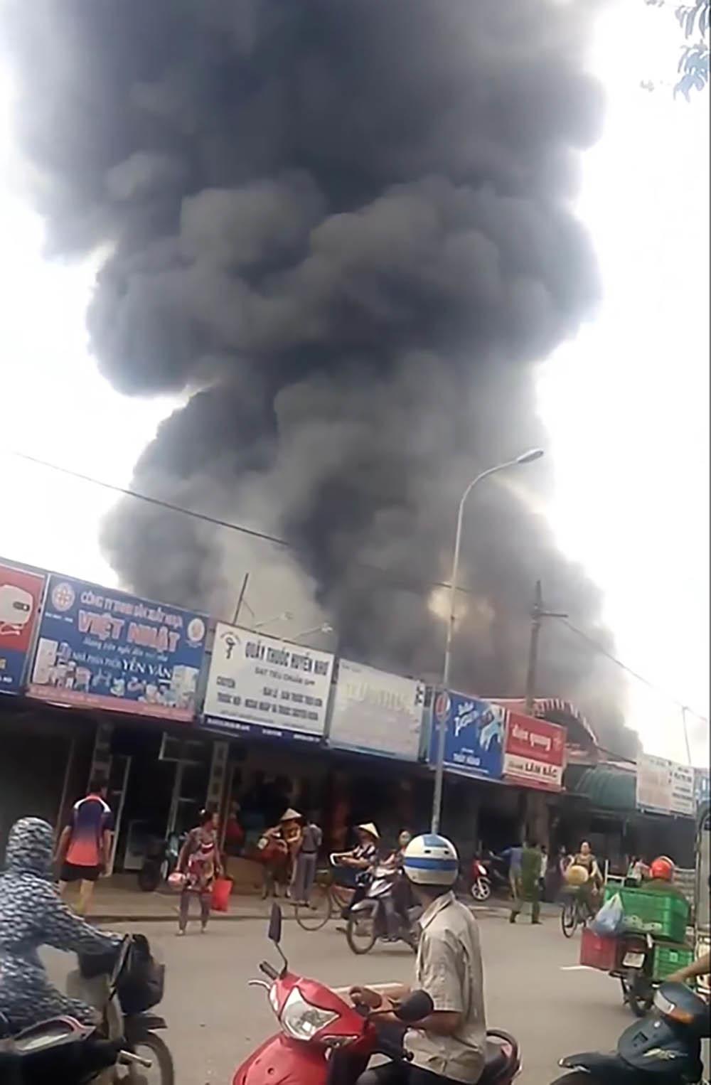 cháy chợ,Cháy chợ Sóc Sơn,cháy ở Hà Nội,Hà Nội