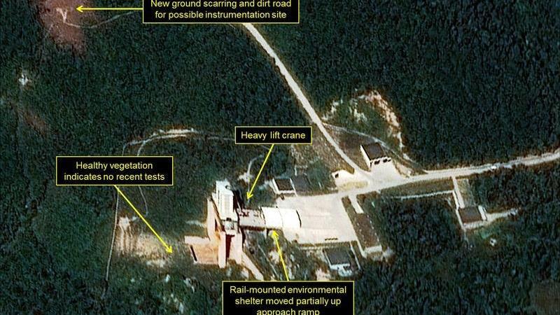 Mỹ,Triều Tiên,thượng đỉnh Mỹ - Triều,Donald Trump,Kim Jong Un,bãi thử hạt nhân,tên lửa
