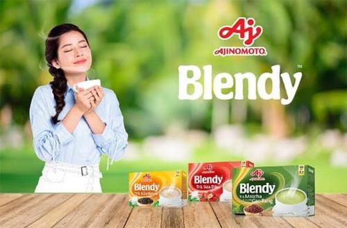 Ra mắt dòng thức uống hòa tan Blendy™