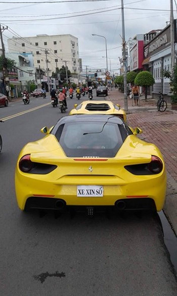 Đại gia đất Bình Dương âm thầm tậu siêu xe Ferrari 488 GTB