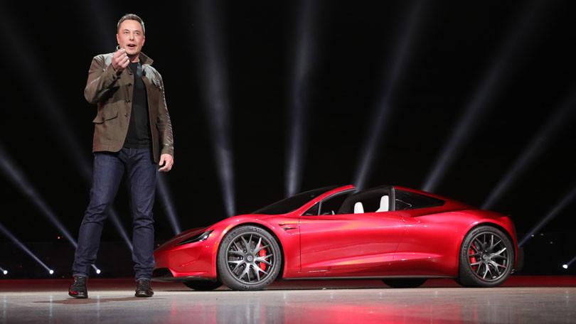 Elon Musk,Tesla,Xe điện