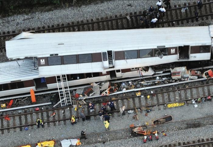 Ngày này năm xưa,đâm tàu điện ngầm,tai nạn tàu điện ngầm,Washington