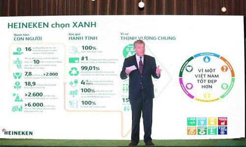 HEINEKEN VN chọn sống xanh, vì sự nghiệp phát triển bền vững