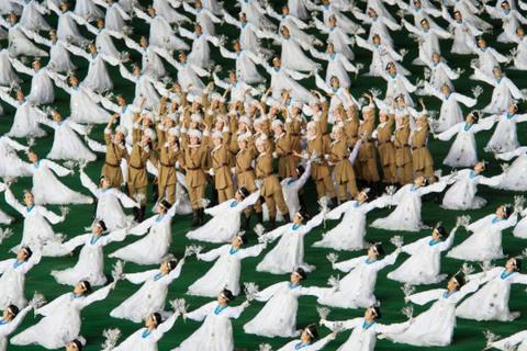 lễ hội Mass Games Triều Tiên