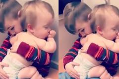 Soái ca ru em ngủ làm tan chảy trái tim các bà mẹ bỉm sữa