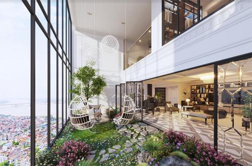 Sun Grand City Ancora Residence - 'Thánh địa' mới của penthouse duplex