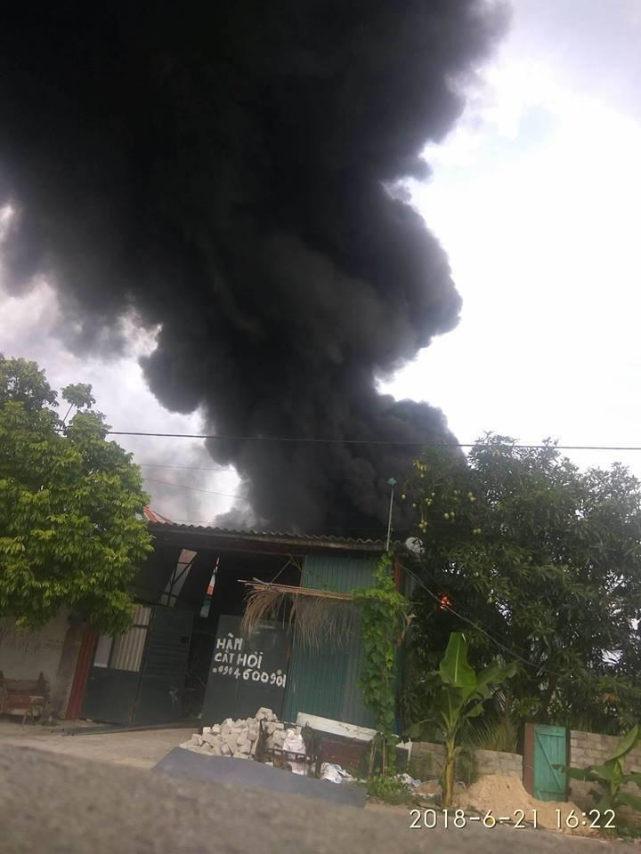 cháy,cháy lớn,Quảng Ninh