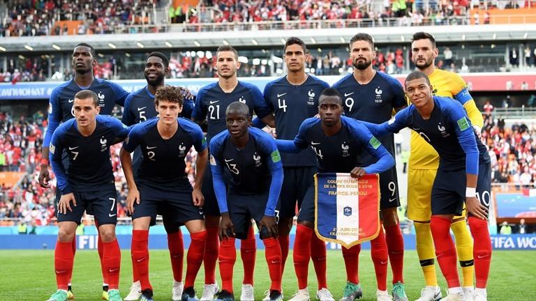 Đội hình xuất phát ĐT Pháp