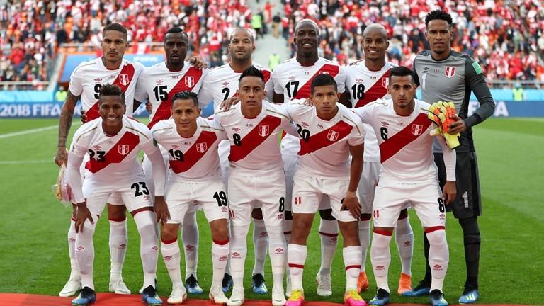 Đội hình xuất phát ĐT Peru