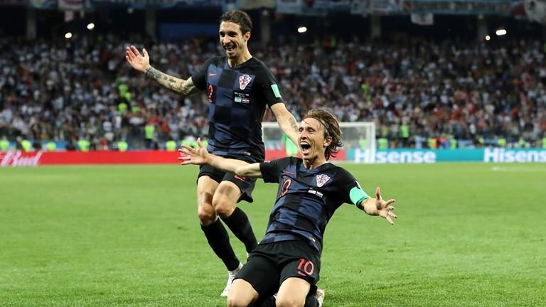 Kết quả Argentina vs Croatia