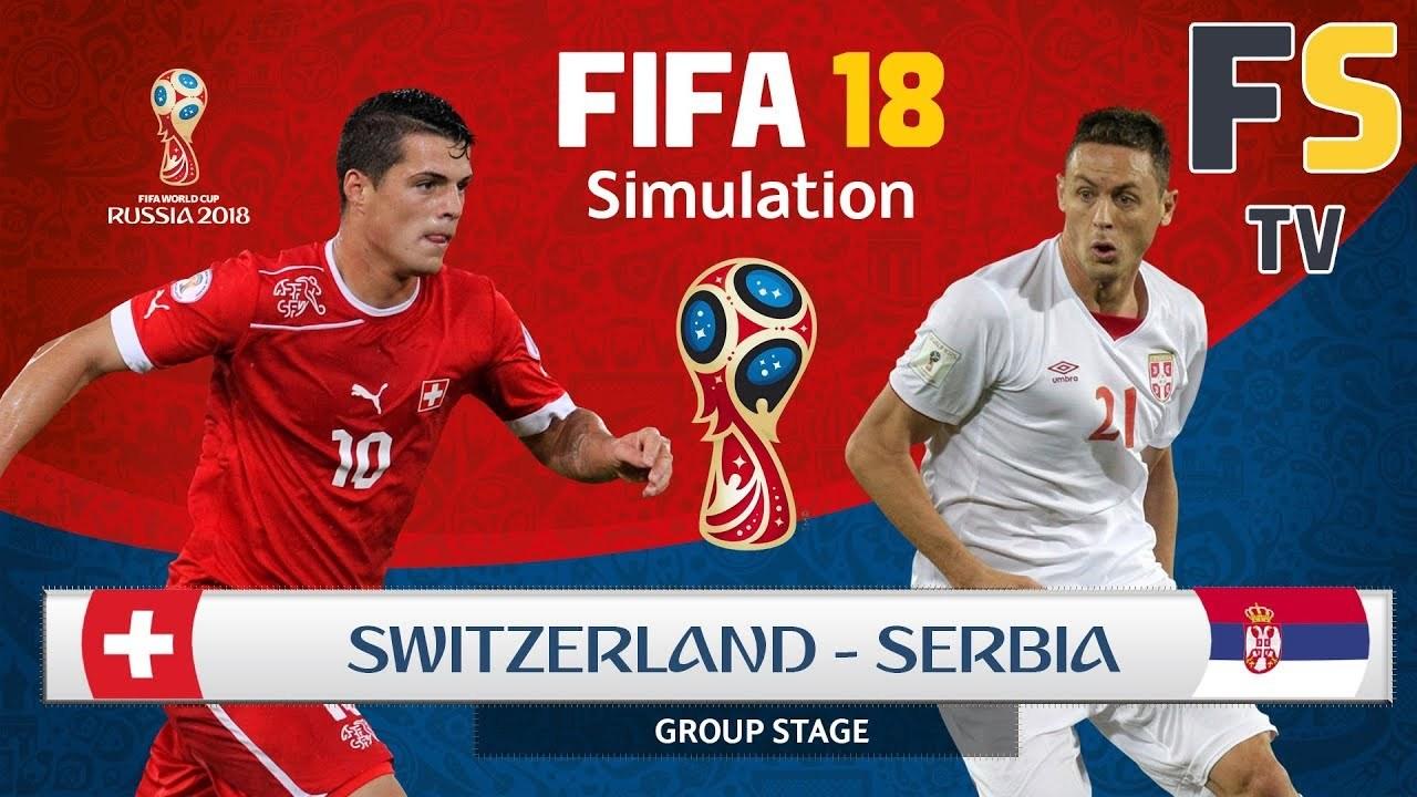 Serbia vs Thụy Sỹ