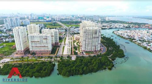 Nhộn nhịp thị trường bất động sản Nam Sài Gòn