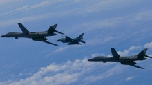Phi công quân đội Mỹ tố bị tấn công laser ở Hoa Đông