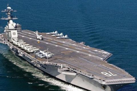 Siêu tàu sân bay Mỹ USS Gerald R. Ford