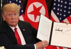 Ông Trump hiểu nhầm thỏa thuận hạt nhân với Kim Jong Un?