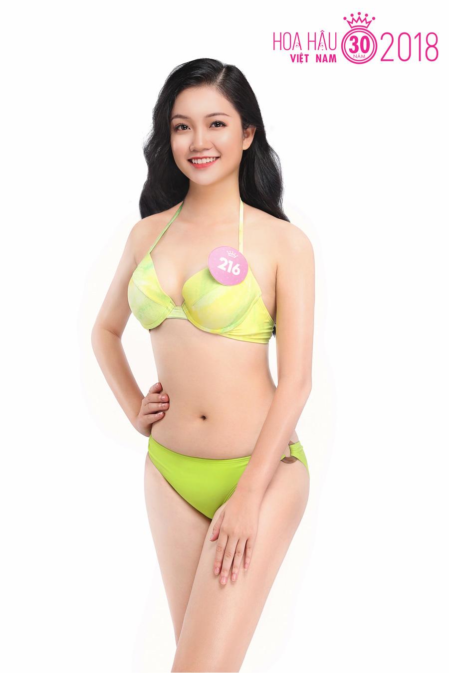 Dàn người đẹp Hoa hậu Việt Nam 2018 nóng rực với bikini