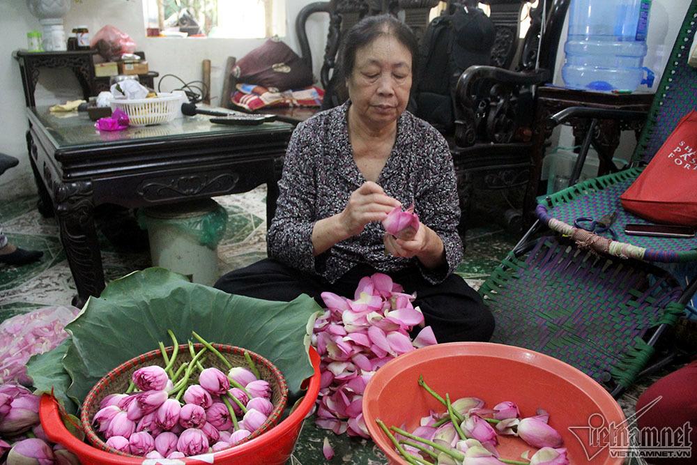 trà sen Tây Hồ,hồ Tây,Hà Nội