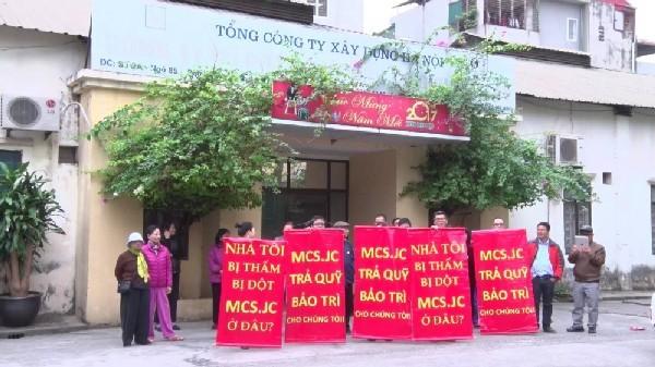 Hệ thống phòng cháy chữa cháy không đảm bảo, cư dân chung cư 54 Hạ Đình bất an