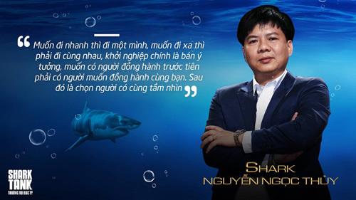 Shark Thủy: Phải 'sẵn sàng mặc áo rộng' mới có thành công