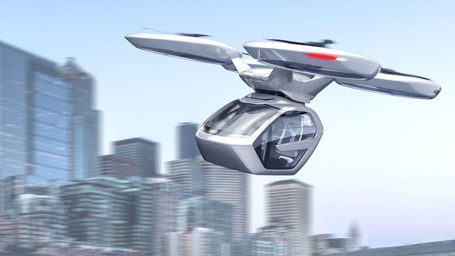 Audi và Airbus hợp tác sản xuất taxi bay, tạo chiều di chuyển mới