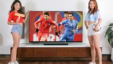 3 dòng TV màn hình lớn giá tốt mùa World Cup 2018
