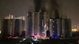 Chung cư Carina chỉ 'hỏng nhẹ' sau vụ cháy 13 người chết