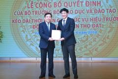Kéo dài thời gian giữ chức vụ với hiệu trưởng ĐH Kinh tế quốc dân