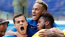 Coutinho và Neymar cùng lập công, Brazil thắng đau tim