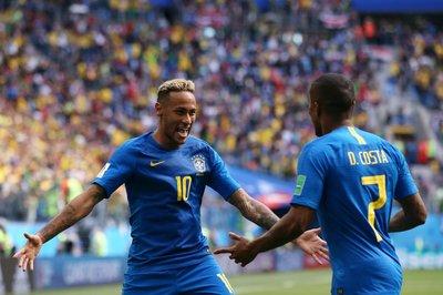 Video bàn thắng Brazil 2-0 Costa Rica