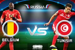 """Bỉ vs Tunisia: """"Cơn lốc đỏ"""" cuốn phăng đối thủ"""