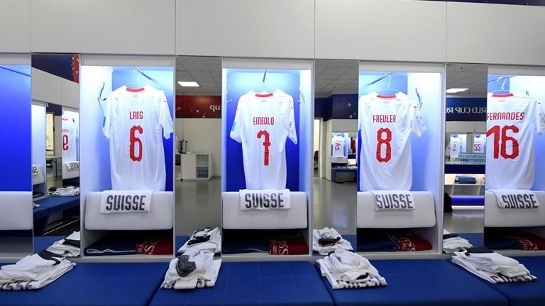 Phòng thay đồ Thụy Sĩ