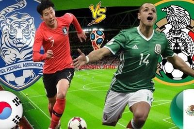 Link xem trực tiếp Hàn Quốc vs Mexico, 22h ngày 23/6