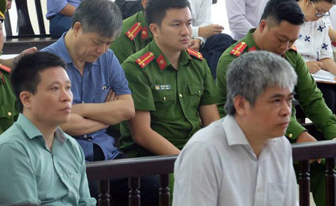 Nguyễn Xuân Sơn,Oceanbank,Đinh La Thăng,Ninh Văn Quỳnh,Tham ô,Tham nhũng