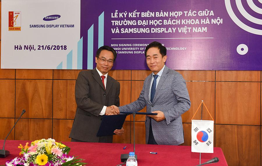 ĐH Bách khoa Hà Nội ký kết thoả thuận cung cấp nhân lực chất lượng cao cho doanh nghiệp