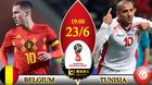 Trực tiếp Bỉ vs Tunisia: Ghi bàn tiếp đi, Lukaku!