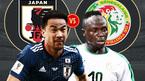 Nhật Bản vs Senegal: Tinh thần samurai là điểm tựa