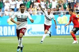Hàn Quốc 0-1 Mexico: Chờ tinh thần châu Á (hiệp 2)