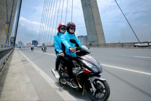 Áo bảo hiểm xe máy - sáng chế của 3 cựu SV Đại học Bách khoa
