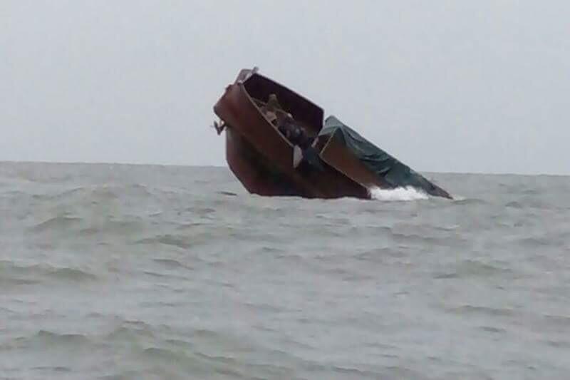 tàu chìm,Móng Cái,chìm tàu